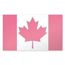 Canada Country Flag Rectangle Decal