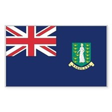 British Virgin Islands Flag Decal
