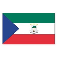 Equatorial Guinea Flag Decal