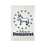 Blue Future Democrat Democratic Rectangle Magnet (