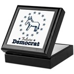 Blue Future Democrat Democratic Keepsake Box