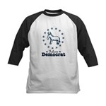Blue Future Democrat Democratic Kids Baseball Jers