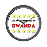I'm Worshiped In Rwanda Wall Clock