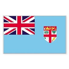 Fiji Flag Rectangle Decal