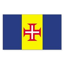 Madeira Country Flag Rectangle Decal