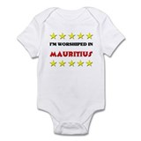 I'm Worshiped In Mauritius Infant Bodysuit