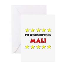 I'm Worshiped In Mali Greeting Card