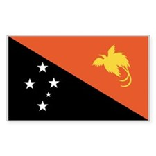 Papua New Guinea Flag Decal