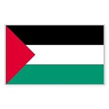Palestine Country Flag Rectangle Decal