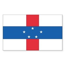 Netherlands Antilles Country Flag Decal
