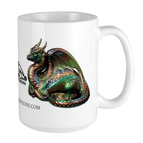 Rainforest Lap dragon Large Mug