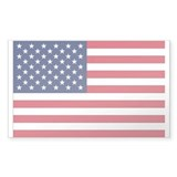 United States Country Flag Rectangle Decal