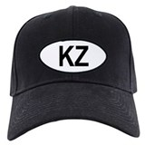 Kazakhstan Oval Baseball Cap