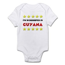 I'm Worshiped In Guyana Infant Bodysuit