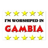 I'm Worshiped In Gambia Postcards (Package of 8)