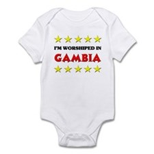 I'm Worshiped In Gambia Onesie