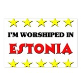 I'm Worshiped In Estonia Postcards (Package of 8)