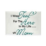 Teal For My Hero 1 (Mom OC) Rectangle Magnet
