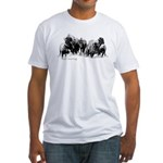 Buffalo Herd Fitted T-Shirt