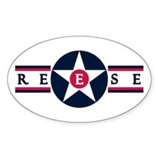 Reese Air Force Base Oval Decal