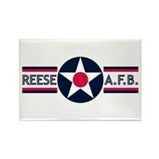 Reese Air Force Base Rectangle Magnet