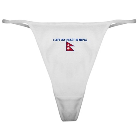 I LEFT MY HEART IN NEPAL Classic Thong