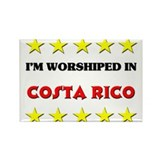 I'm Worshiped In Costa Rico Rectangle Magnet (10 p