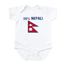 50 PERCENT NEPALI Infant Bodysuit
