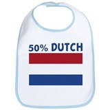 50 PERCENT DUTCH Bib