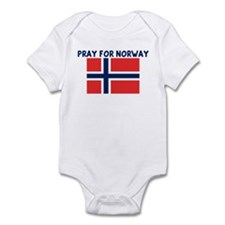 PRAY FOR NORWAY Infant Bodysuit