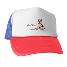 Wire Fox Terrier Dog Walk Trucker Hat