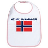 KISS ME IM NORWEGIAN Bib