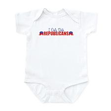 I Only Date Republicans Infant Bodysuit