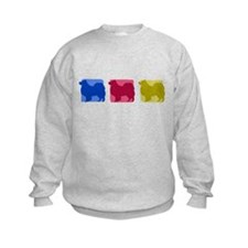 Color Row Finnish Lapphund Sweatshirt