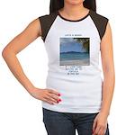 Life's a Beach Women's Cap Sleeve T-Shirt