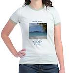Life's a Beach Jr. Ringer T-Shirt