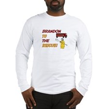 Brandon to the Rescue! Long Sleeve T-Shirt