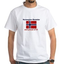 Proud Norwegian Bestefar Shirt