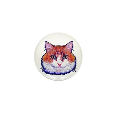Pretty Kitty Mini Button (10 pack)