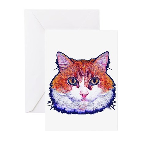 Pretty Kitty Greeting Cards (Pk of 10)