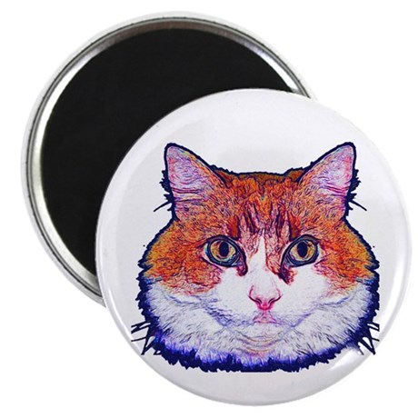 "Pretty Kitty 2.25"" Magnet (10 pack)"