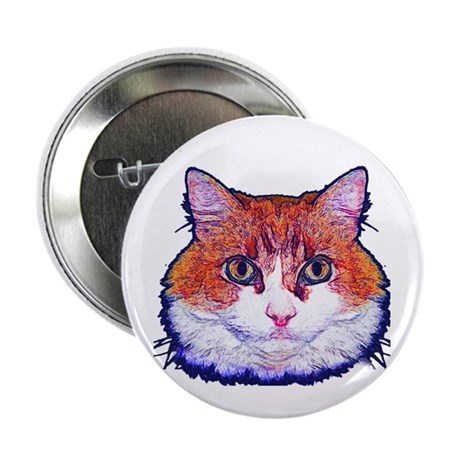 "Pretty Kitty 2.25"" Button (10 pack)"