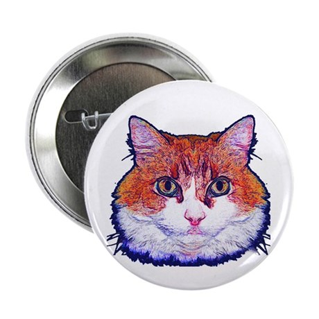 "Pretty Kitty 2.25"" Button"