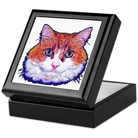 Pretty Kitty Keepsake Box