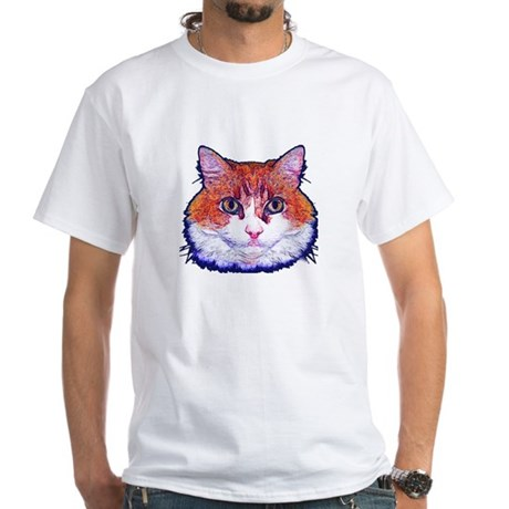 Pretty Kitty White T-Shirt
