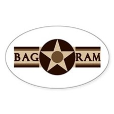 Bagram Air Base Oval Decal