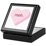 Meh Heart Keepsake Box