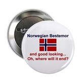 Gd Lkg Norwegian Bestemor 2.25&quot; Button