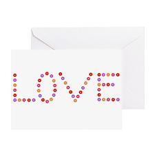 Love in Flowers Greeting Card