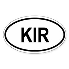 Kiribati Oval Decal